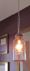 Ball Perfect Mason Jar Lamp