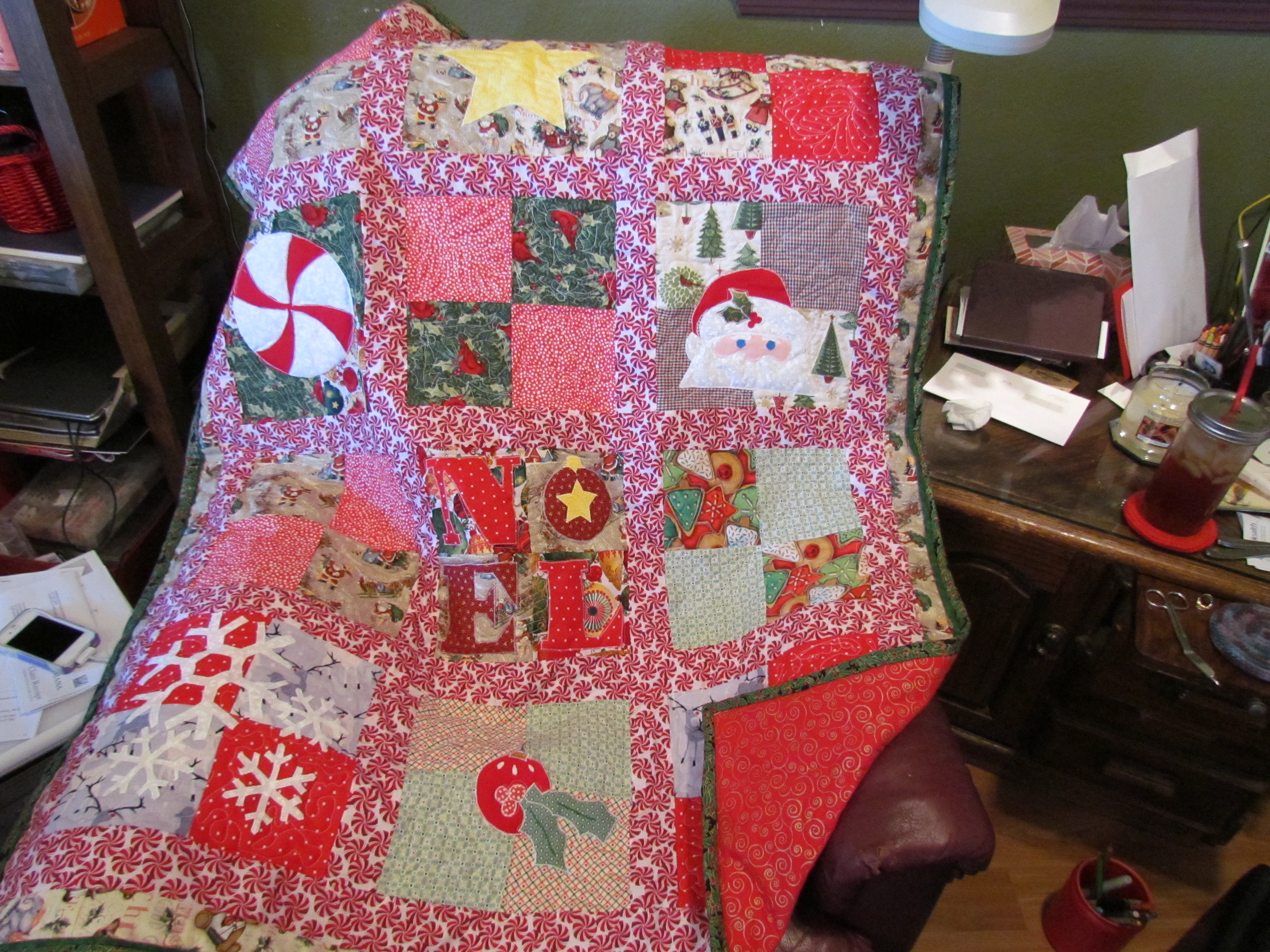 special order quilts » Irish Rose Creations